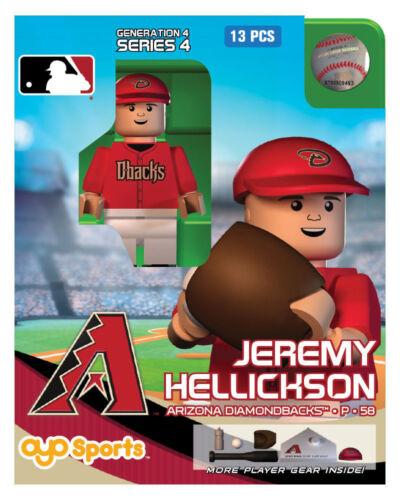 Jeremy Hellickson MLB Arizona Diamondbacks Oyo Mini Figure NEW G4