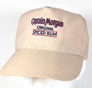 d20c1eee5 Details about Vintage Captain Morgan Original Spiced Rum Snapback Hat Cap