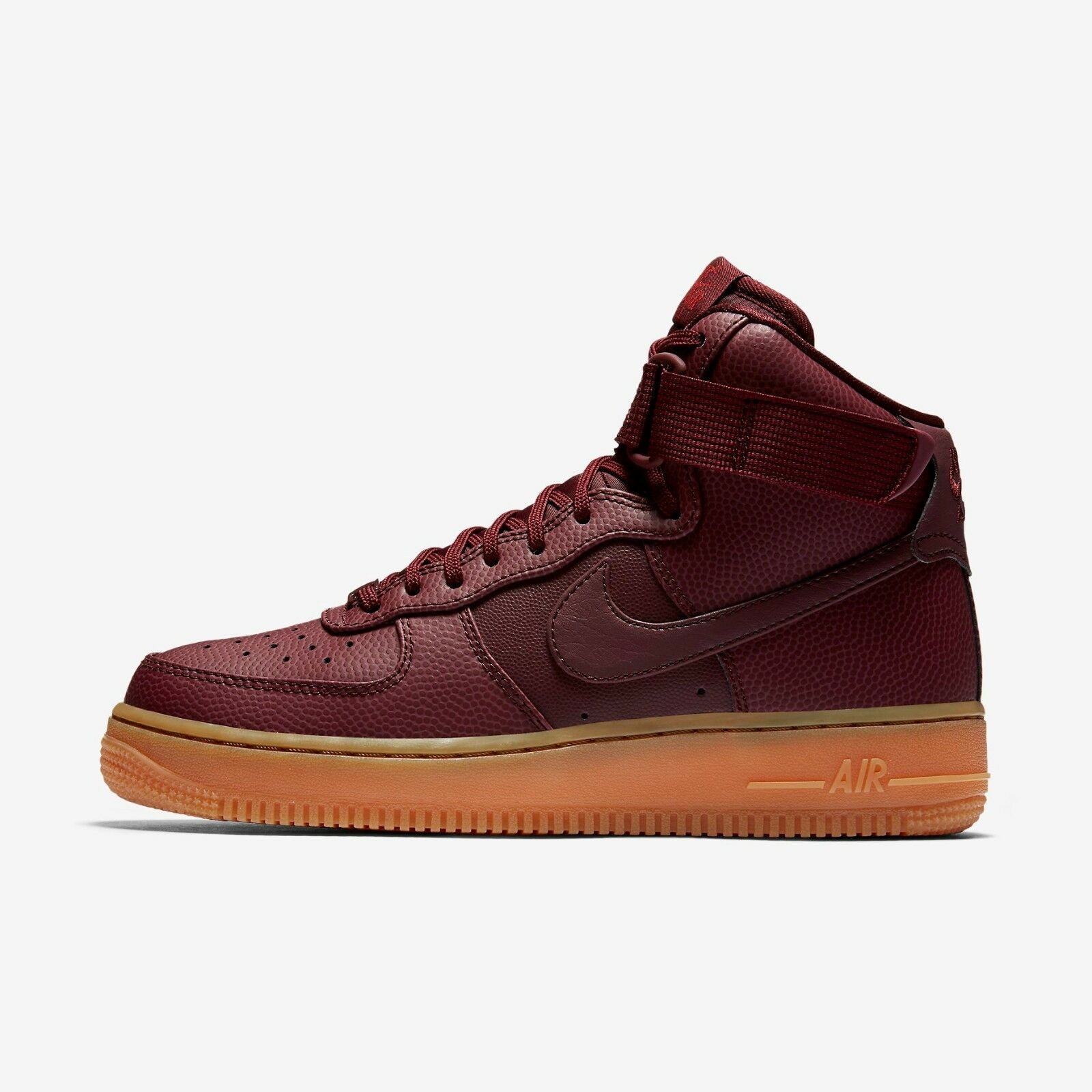 New Nike Women's Air Force 1 High SE Shoes (860544-600)  Night Maroon