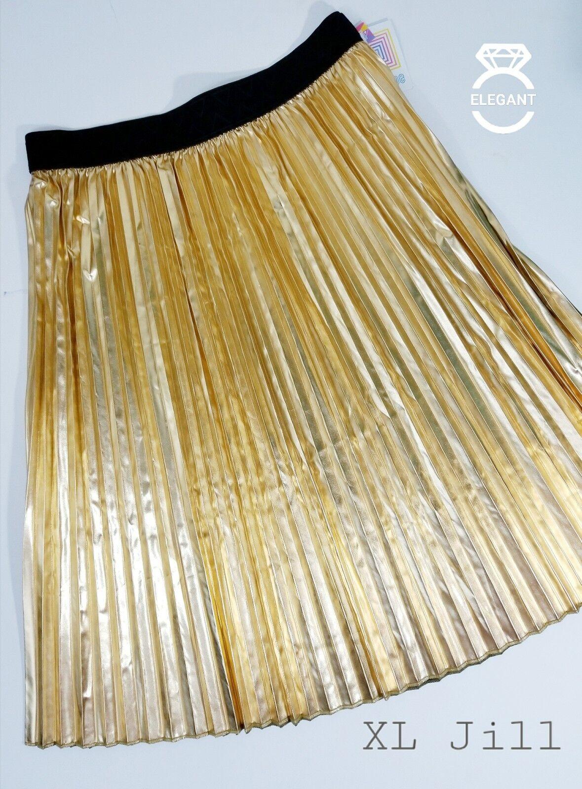 LuLaRoe Elegant gold Jill, XL