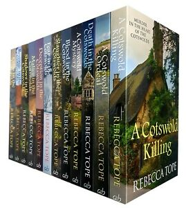 Rebecca-Tope-Collection-Cotswold-Mystery-Series-12-Books-Pack-Set-Costwolds-New