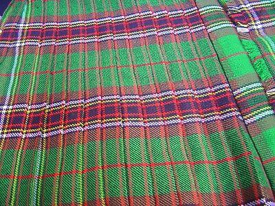 Radient 8 Yd (ca. 7.32 M) Scottish Highland Uomo Tradizionali Per Kilt In Cucita Pieghe Top Quality- Famoso Per Materie Prime Di Alta Qualità, Gamma Completa Di Specifiche E Dimensioni E Grande Varietà Di Design E Colori
