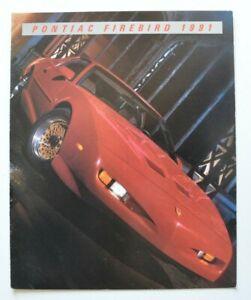 PONTIAC-FIREBIRD-1991-dealer-brochure-catalog-French-Canada