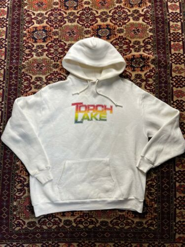 Vtg 70s 80s Torch Lake Hoodie Jerseys By Russell … - image 1