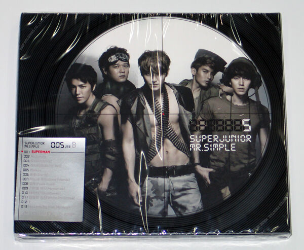 SUPER JUNIOR - Mr.Simple (Vol. 5 Type-B) CD+Photo Booklet+Photocard K-POP