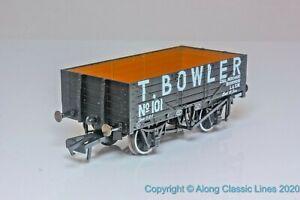 Oxford-Rail-OR76MW5001-OO-Gauge-5-Plank-Open-Wagon-039-T-Bowler-Coal-Merchant