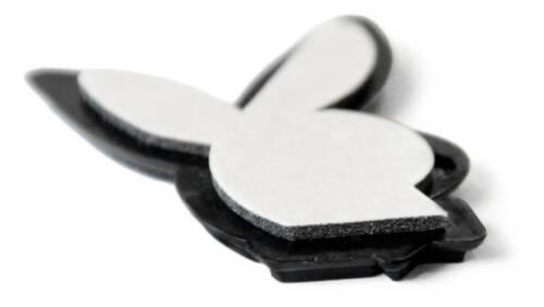 Voiture 3d relief Emblème playboy bunny 38 mm auto-adhésif de juge Art 6666