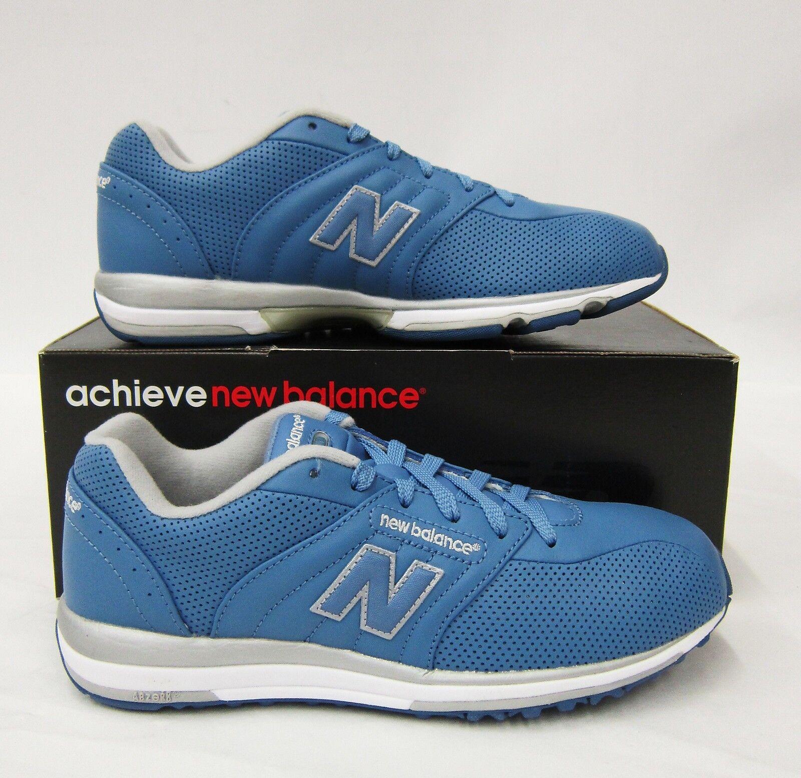 NEW Balance Sneaker Scarpa Blu/Argento #5001