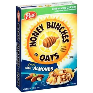 Post Honey Bunches of Oats with Almonds Cereal 14.5 oz
