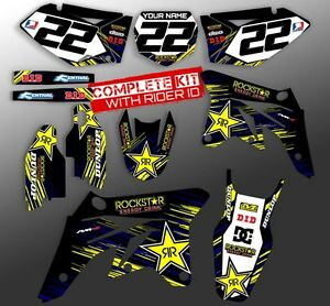 1996-1997-1998-1999-2000-2001-YZ-125-250-GRAPHICS-YAMAHA-YZ250-YZ125-DECAL-KIT