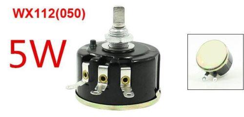 WX112(050)10K ohm 5W Single-circle wire wound potentiometer 5PCS