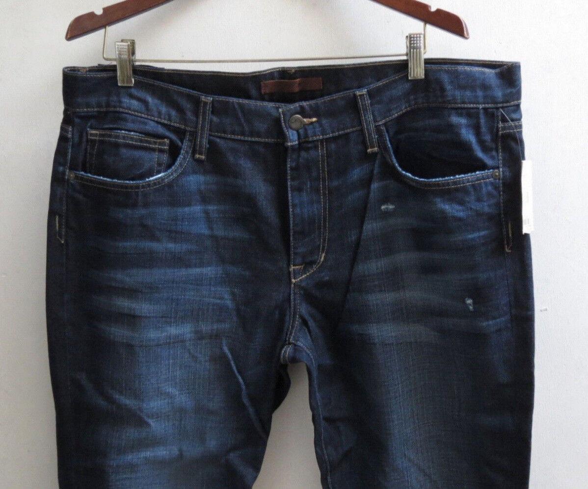 Joe's Jeans Men 38 x 33 Super Slim Nova Distressed Authentic New with Tags