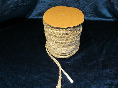 15 FEET STOVE GLASS SEAL TAPE FIRE ROPE  GASKET WOOD STOVE Adhesive Backed.