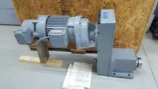 Russell T Gilman Precision Spindle 2750f 01 B Spg Powered Electric Gear Drive