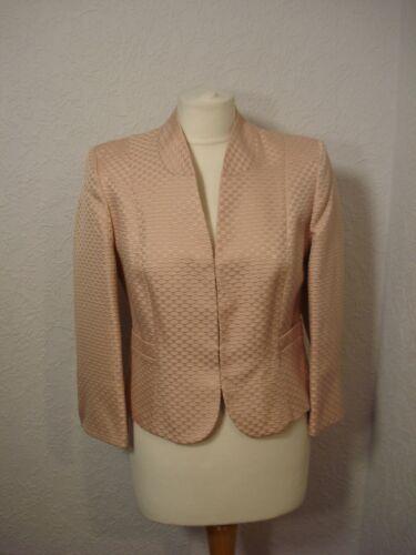 Jacket Eight Pink bruiloft Bolero Dusky Jacquard Phase 10 Avond brokaat qSRTT8
