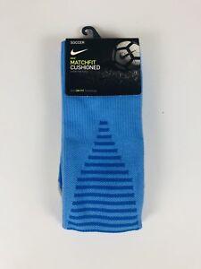 97aab491272c Nike Team Matchfit Core OTC Cushioned Soccer Socks SX5730 412 M 6-8 ...
