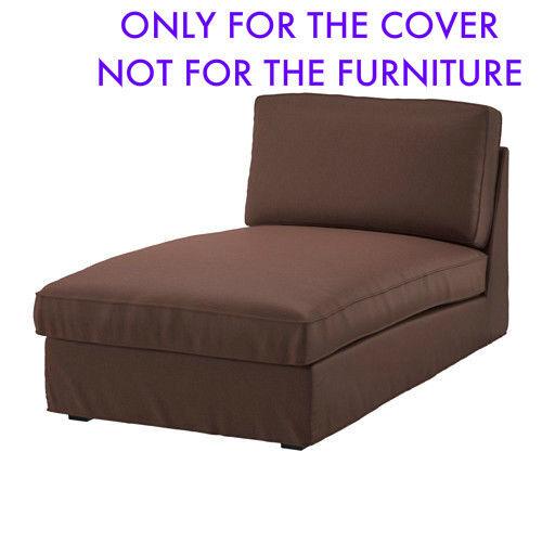 Fabulous Ikea Kivik Chaise Lounge Slipcover Cover Borred Dark Brown 503 429 49 New Uwap Interior Chair Design Uwaporg