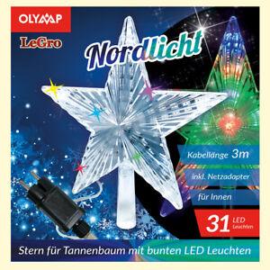 Weihnachtsstern Für Tannenbaum.Details Zu Led Stern Für Tannenbaum Weihnachtsstern Mit 31 Multicolor Led S звезда ёлка