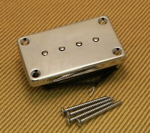 pu 0416 010 chrome humbucker gibson epiphone bass neck pickup 645208014987 ebay. Black Bedroom Furniture Sets. Home Design Ideas