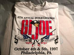 1997-GI-JOE-Collector-039-s-Convention-Tee-Shirt-Never-Worn-XL