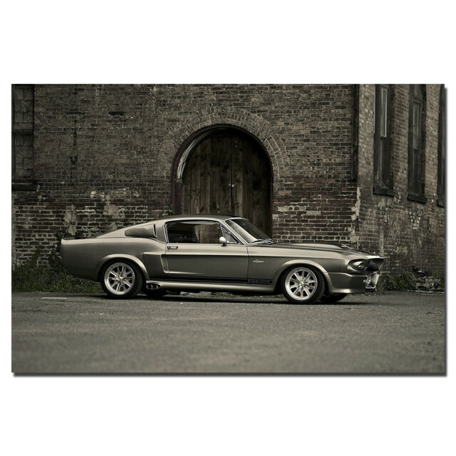 ELEANOR 1967 FORD MUSTANG SHELBY GT500 NEW A3 PRINT POSTER PICTURE HAL1493