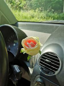 VOLKSWAGEN Bug New Beetle Interior Console Dashboard Flower Mini SUNFLOWER