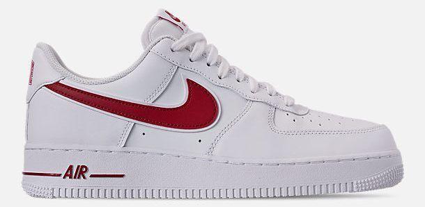 Nike Air Force 0.3m07 3 Uomo Casual Bianco - Rosso Rosso Rosso Palestra Originale | Elegante e divertente  8586c3