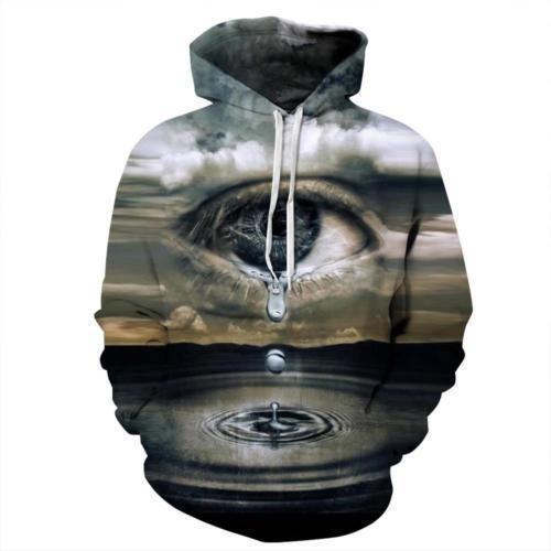 Men Women Unisex Galaxy Space 3D Print Jumper Hoodie Sweatshirt Hoodies Pullover