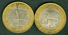 2 EURO  TEMPORAIRE DES VILLES DE MILLAU  1997  ETAT  NEUF
