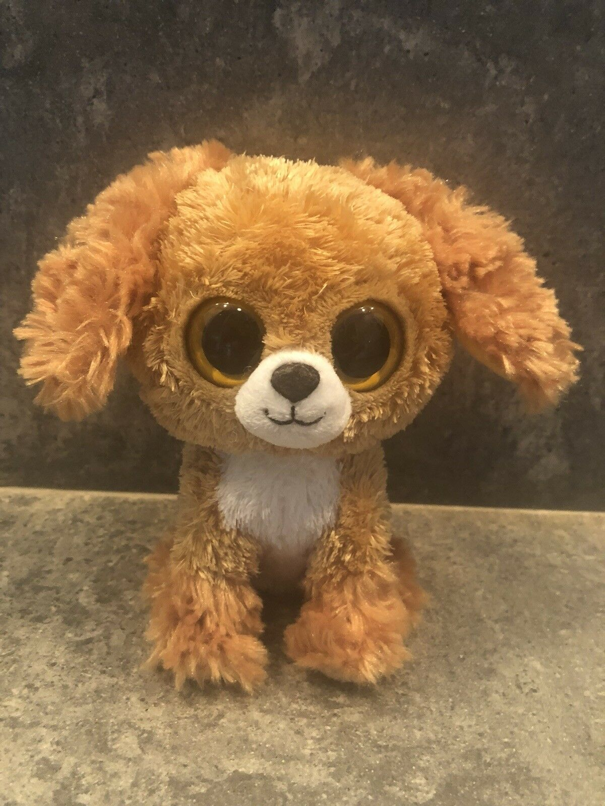 AUTHENTIC PredOTYPE Beanie BOO golden PUPPY Museum Museum Museum Quality Rare a558f4