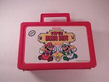 Super Mario Bros. Pencil Case 1990 Nintendo Clean Very Good Condition Plastic