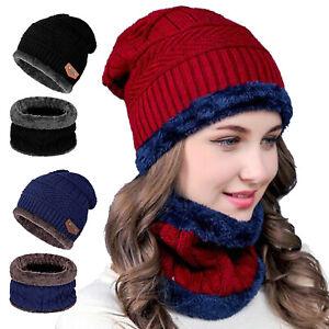 Winter-Warm-Beanie-Hat-Scarf-Set-Fleece-Knit-Balaclava-Ski-Cap-For-Kid-Men-Women