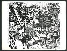 Michael Adamas ( Seychelles ) :  cartolina nuova formato cm 13 x 17