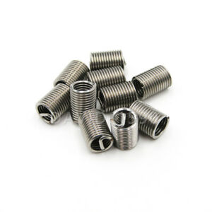 1D Length Helicoil Insert Wire Thread Insert 304 Stainless Steel 10pk 1//2-13