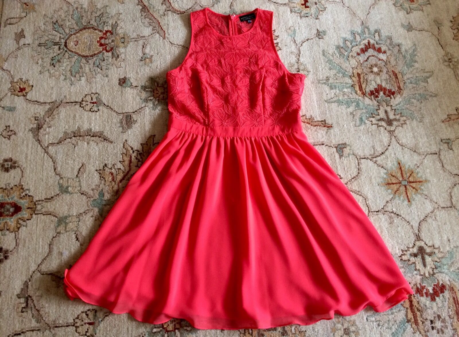 Warehouse Spotlight Coral Dress,