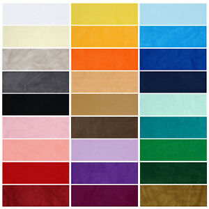 Velour Polar Fleece Anti Pill Quality Stretch Fabric,28 Colors,Soft Feel,Neotrim