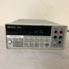 Hp Agilent 34401a 6 12 Digit Digital Multimeter Main Unit Only Used Japan
