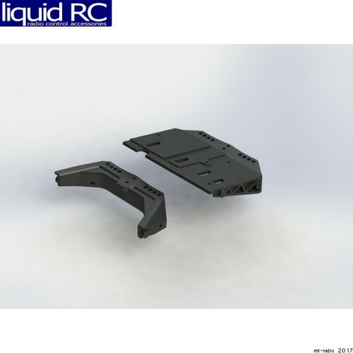 Arrma AR320356 AR320356 Front//Rear Shock Mount /& Radio Tray