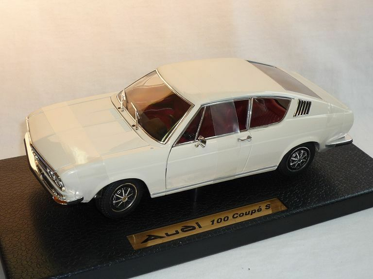 AUDI 100 COUPE S WHITE ANSON VERY OLD RELEASE 1 18 BRAND NEW IN BOX LAST PIECE
