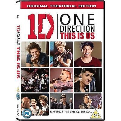 1 of 1 - One Direction - This Is Us (DVD, 2013) FREE P&P