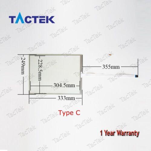 For B/&R 5AP920.1505-KA0 Touch Screen Panel Glass Digitizer 5AP920-1505-KA0
