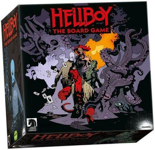 Hellboy The Board Game Collector's Edition-Includes pédale de démarrage exclusives