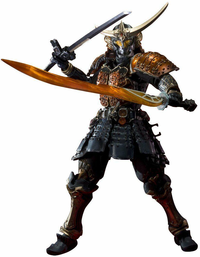 BANDAI S.I.C. sic enmasCocheado Kamen Rider gaimu naranja brazos
