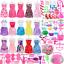 thumbnail 12 - Accesorios de ropa de muñeca para muñecas barbie juguetes para niñas 106Pcs
