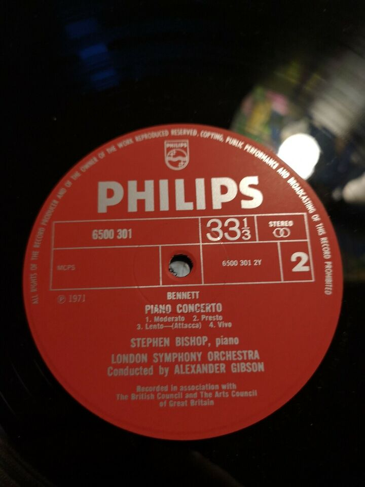 LP, Richard Rodney Bennett, London Jazz Ensemble