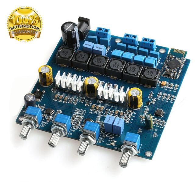 TPA3116 2 1 Bluetooth 4 0 Class D Digital Amplifier AMP Board Module 100W  +2*50W