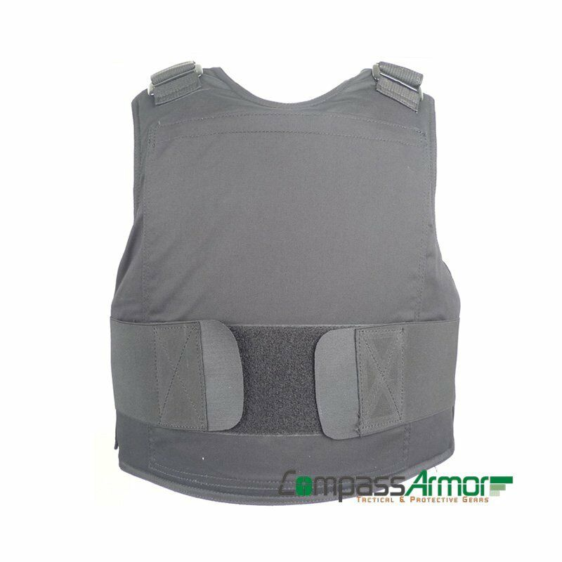 Bulletproof Concealable Body Armor Suit Vest NIJ Level IIIA made with Kevlar