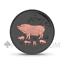 miniatuur 1 - AUSTRALIA 2019 1$ LUNAR PIG 1oz ROSAGOLD UND RUTHENIUM