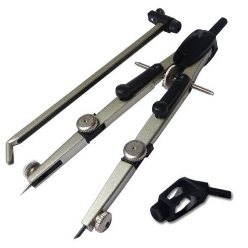 Schnellverstellzirkel 10420 mit Verlängerungsstange und Universaladapter