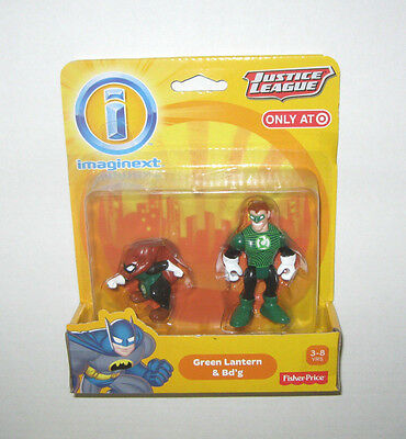 "Imaginext GREEN LANTERN /& BD /""G DC Justice League TARGET EXCLUSIVE NEW IN BOX"